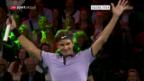 Video «Federer gewinnt Match for Africa 3» abspielen