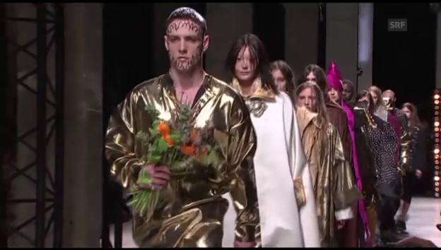 Video «Vivienne Westwoods neuste Kollektion (unkomm.)» abspielen