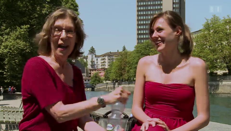 Anja Haesli auf den Spuren von Sue Schell