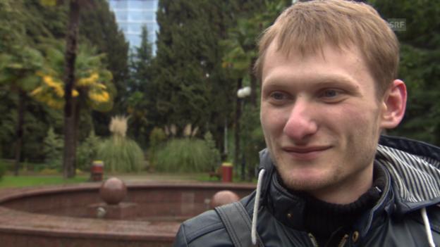 Video «Sotschi: Augenschein in der Olympiastadt» abspielen