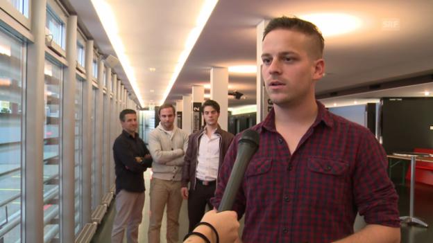 Video «Dominik Gerber, das neue Gesicht bei Phenomen» abspielen
