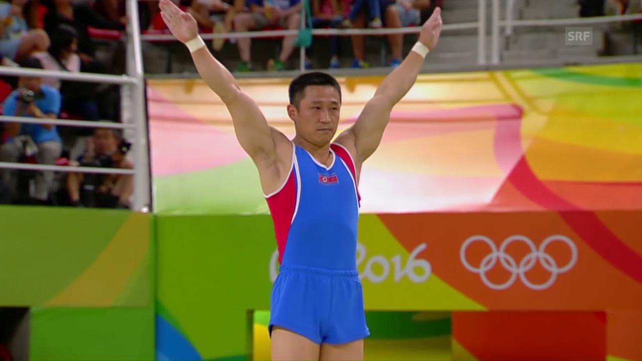 Ri Se-gwang wird Sprung-Olympiasieger
