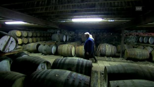 Video «Einblick in die Schottische Whisky-Produktion» abspielen