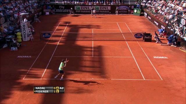 Federer - Nadal: Die wichtigsten Ballwechsel («sportlive»)