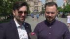 Video «Timebelle: Die ESC-Hoffnung auf Erkundungstour in Kiew» abspielen
