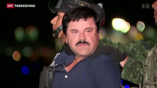 Video ««El Chapo» wieder hinter Gittern» abspielen
