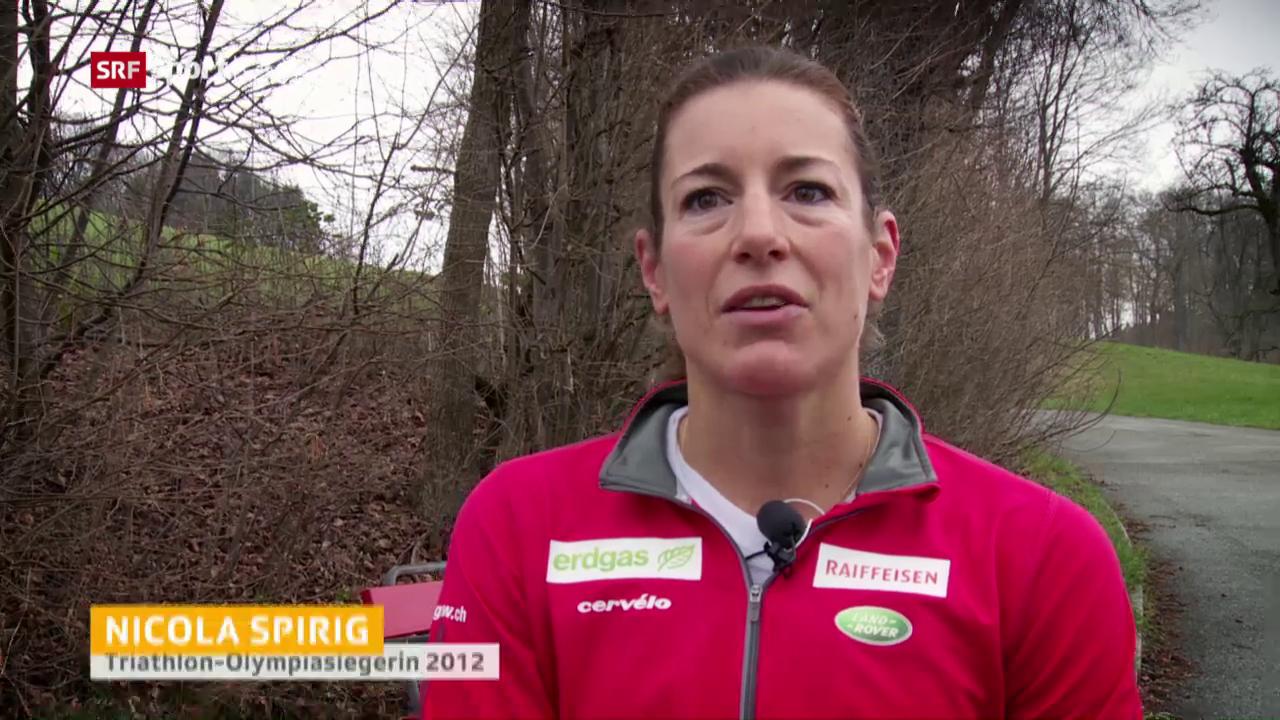Nicola Spirig und ihr Comeback