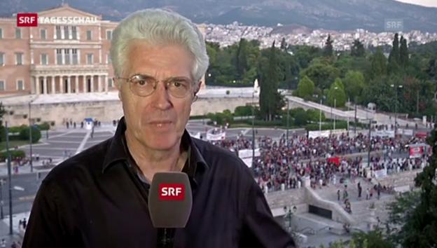 Video «Einschätzungen von SRF-Korrespondent Werner van Gent» abspielen