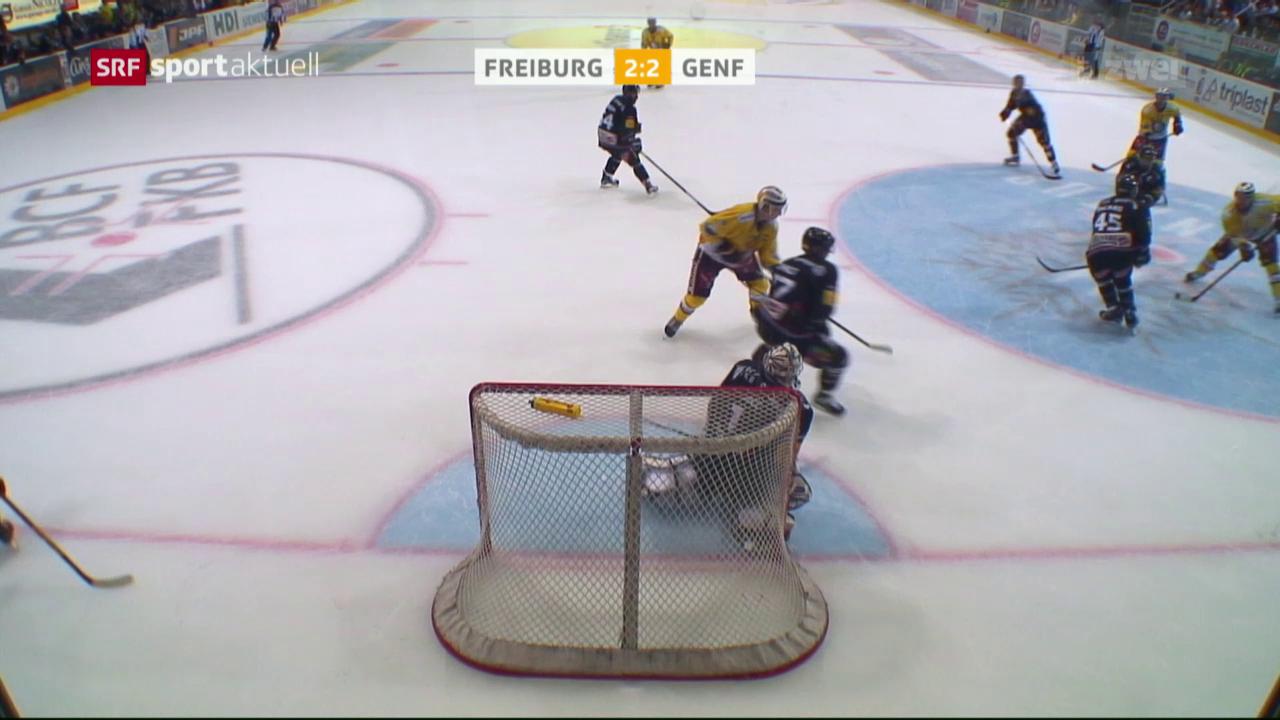 Freiburg gewinnt das Romand Derby gegen Genf