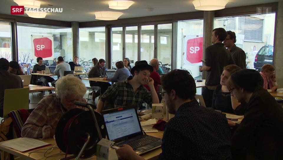 SP setzt bei Wahlen auf Telefonkampagnen