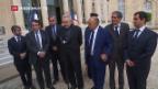Video «Frankreich: Verstärkter Schutz für religiöse Einrichtungen» abspielen