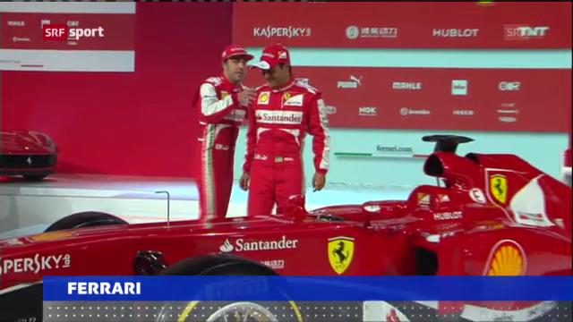 Ferrari präsentiert neuen Boliden («sportaktuell»)
