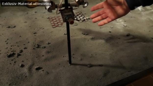 Video «Wie Philae in den Kometen hämmern sollte («Einstein»)» abspielen