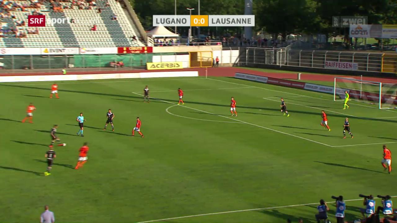 Lugano und Lausanne teilen die Punkte