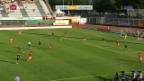 Video «Lugano und Lausanne teilen die Punkte» abspielen
