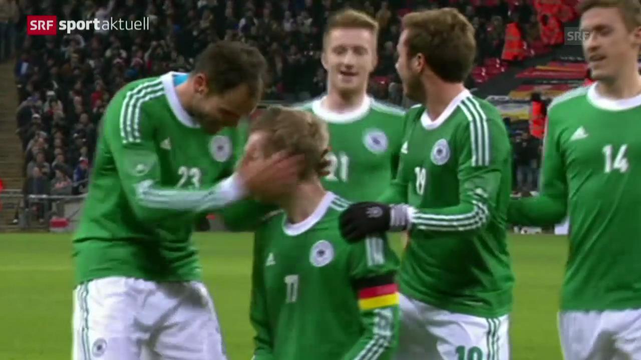 Fussball: England - Deutschland
