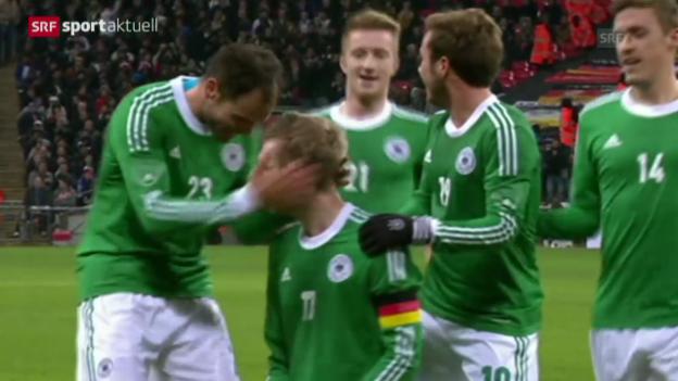 Video «Fussball: England - Deutschland» abspielen