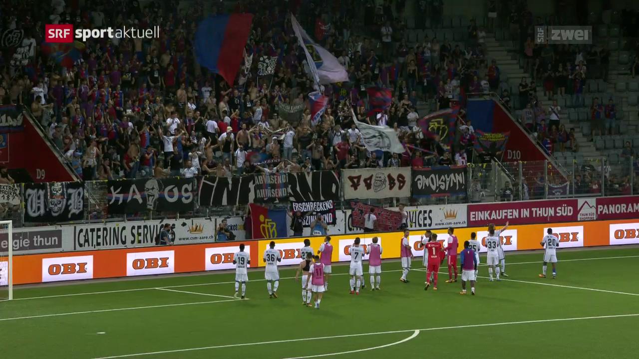 Thun bleibt gegen Basel chancenlos