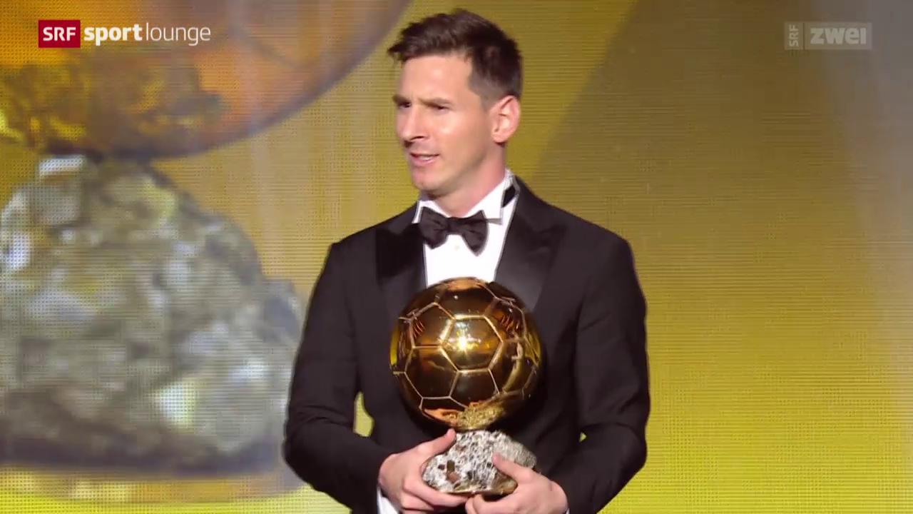 Ballon d'Or: Messi, Ronaldo oder Neymar?
