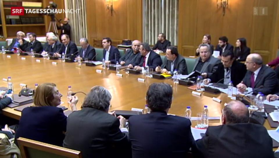 Stühlerücken im griechischen Kabinett