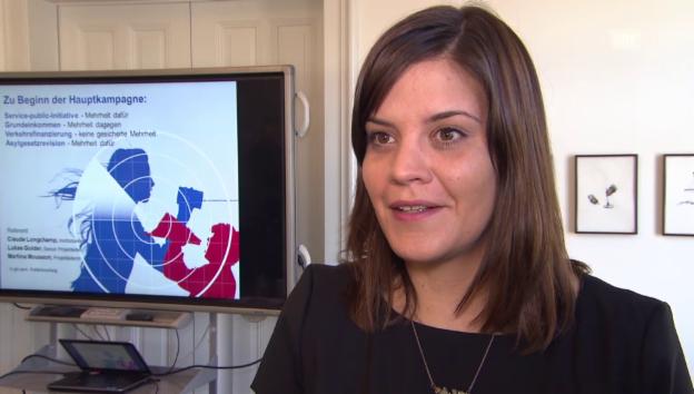 Video «Martina Mousson: Was ist im Abstimmungskampf zu erwarten?» abspielen