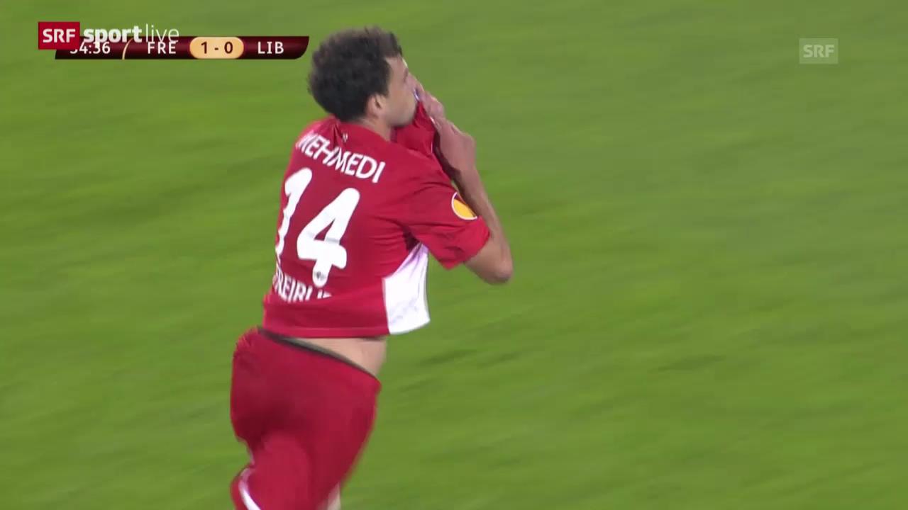 Europa League: Mehmedi trifft für Freiburg