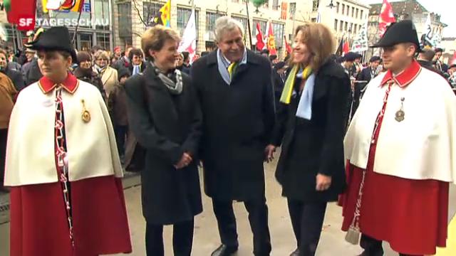 Neuer Nationalratspräsident Walter wird gefeiert
