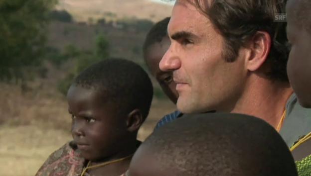 Video «Federer in Malawi» abspielen