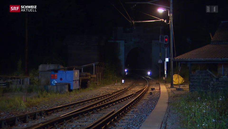 Sanierung des Weissenstein-Tunnels (05.06.2015)