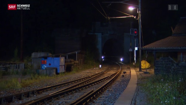 Video «Sanierung des Weissenstein-Tunnels (05.06.2015)» abspielen