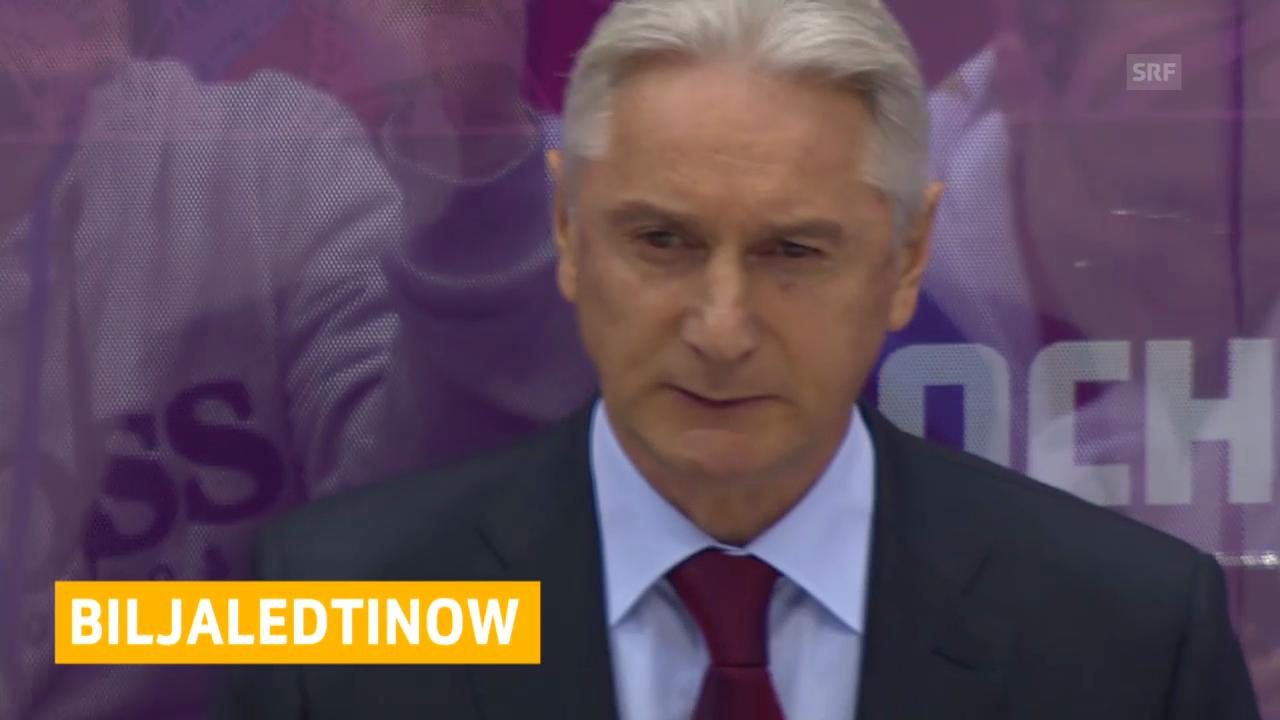 Eishockey: Biljaletdinow nicht mehr Sbornaja-Trainer (05.03.2014)