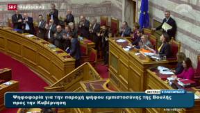 Video «Griechenland unter Zugzwang» abspielen