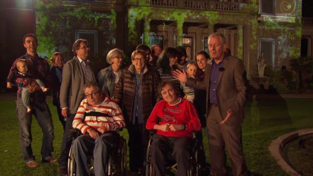 Video «Elisabeth mit ihrer Familie im Rieterpark» abspielen