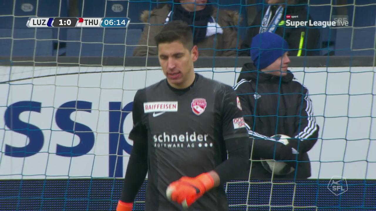 Luzern-Thun: die Goalies im Fokus