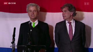 Video «Europawahl: Dämpfer für Europakritiker in den Niederlanden» abspielen