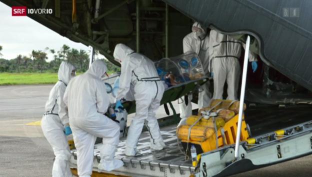 Video «Ebola: Heikler Einsatz» abspielen