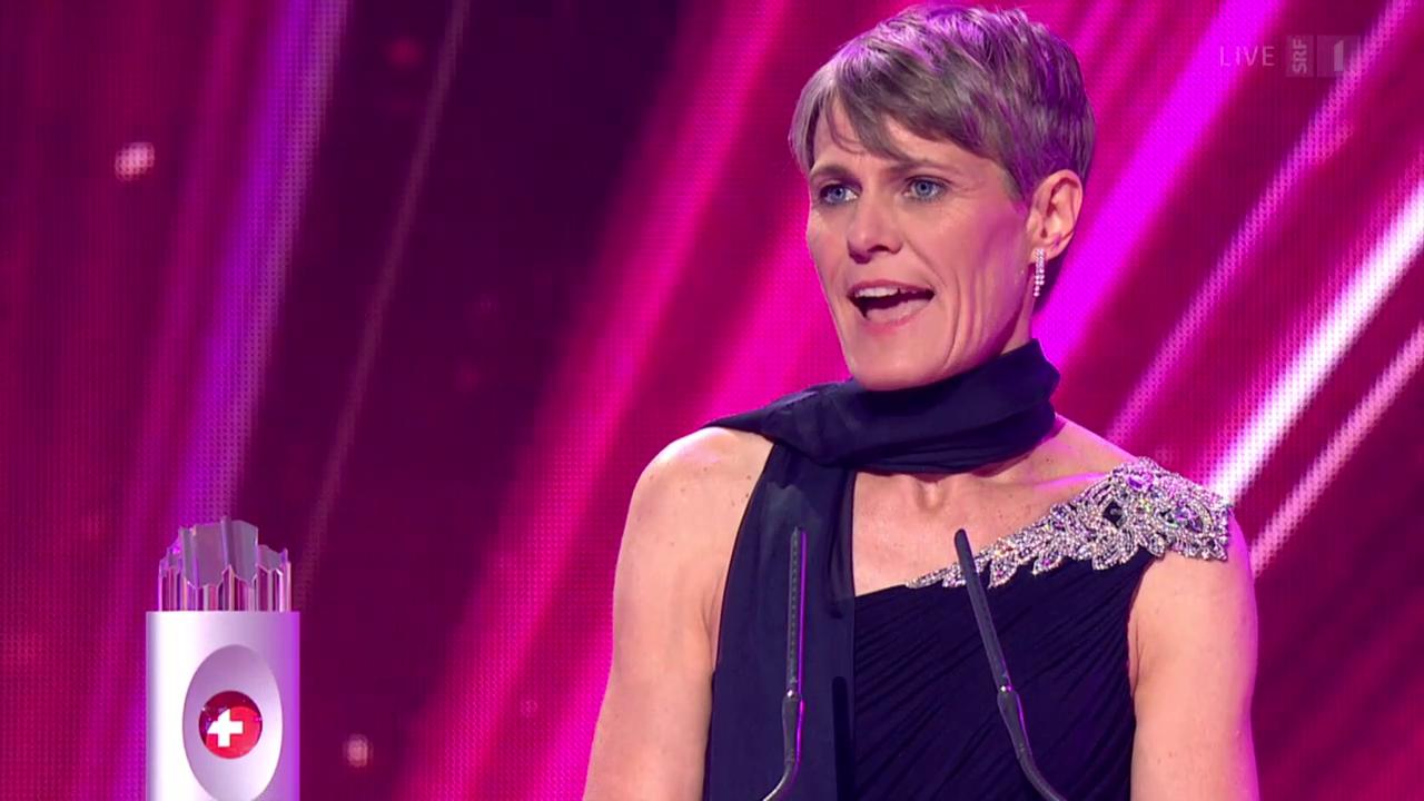 Sabine Hediger - Gewinnerin Kategorie Gesellschaft