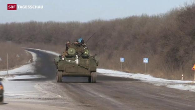 Video «Ukraine verliert Schlacht um Debalzewe» abspielen