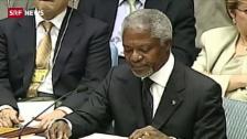 Link öffnet eine Lightbox. Video Kofi Annan verstirbt in Bern abspielen