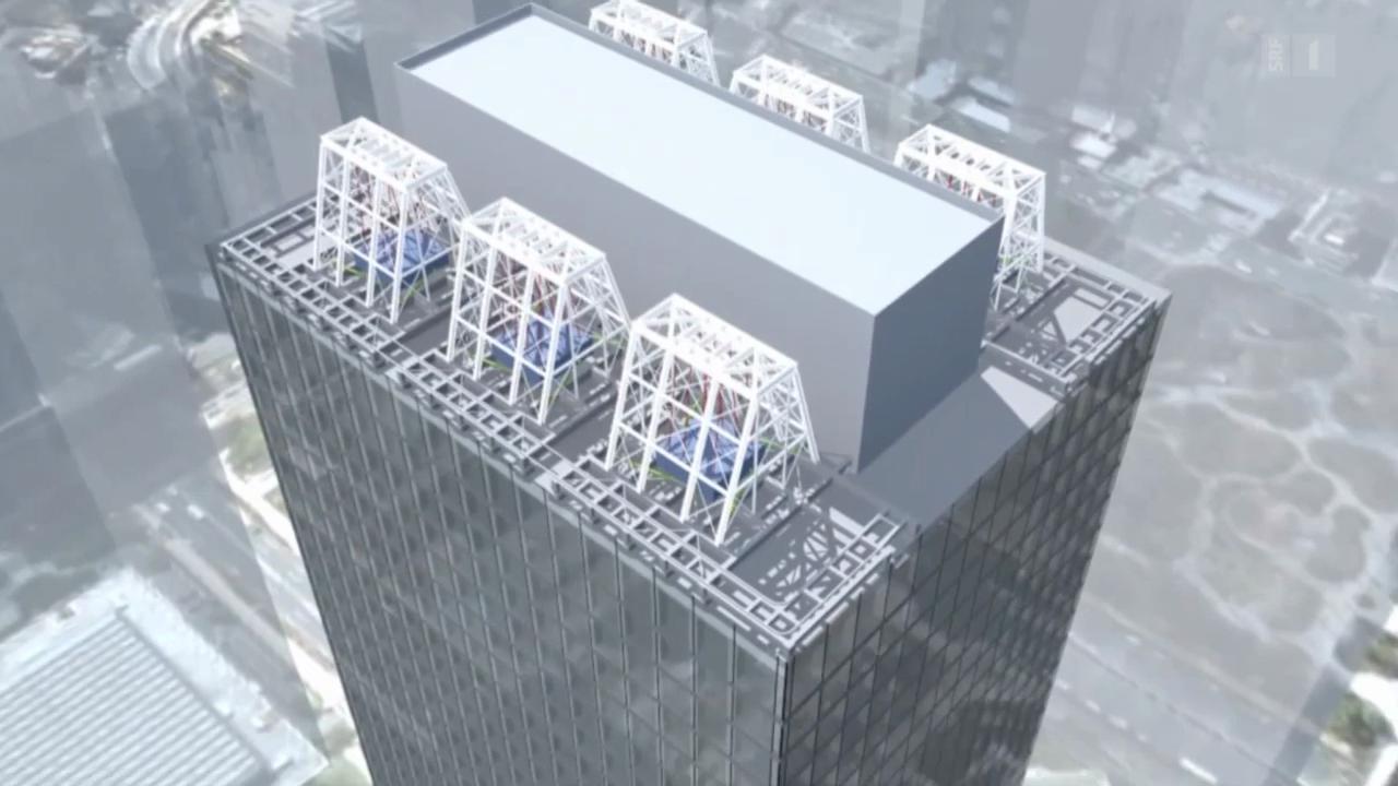 Erdbebensichere Wolkenkratzer