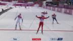 Video «Sotschi: Langlauf, Skiathlon, Zielspurt der Männer» abspielen