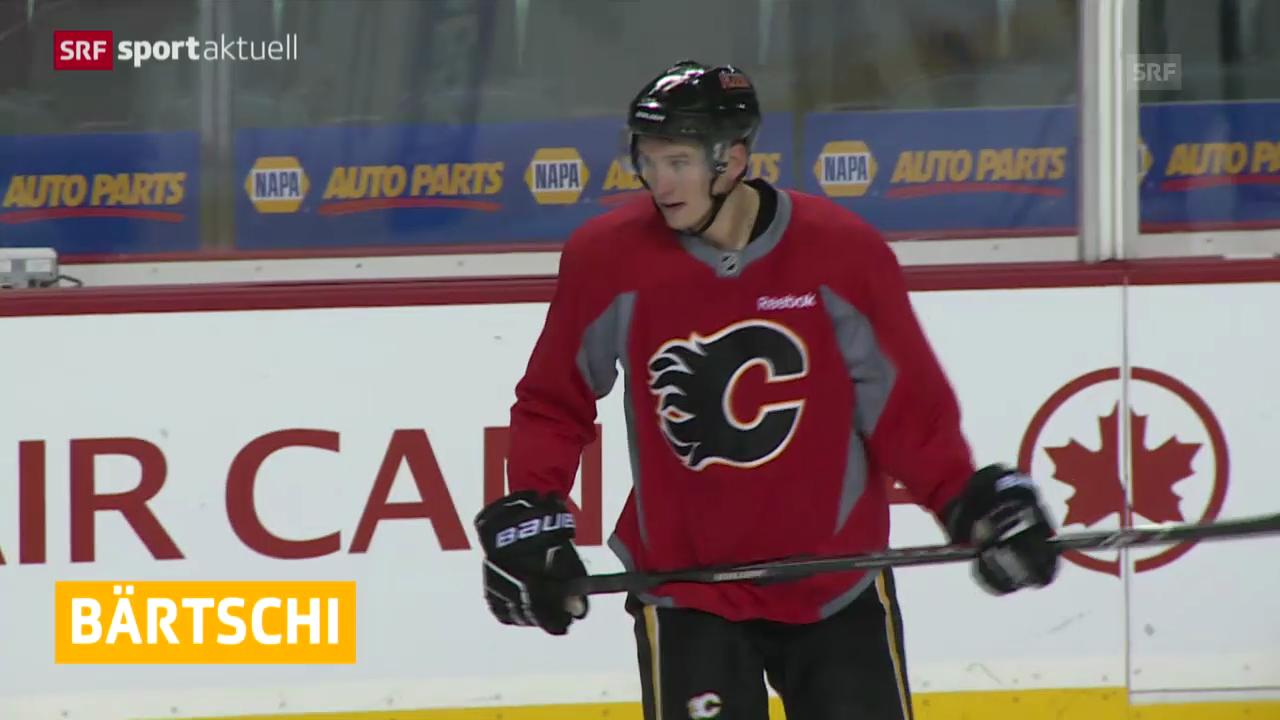 Bärtschi in AHL (sportaktuell 13.12.13)