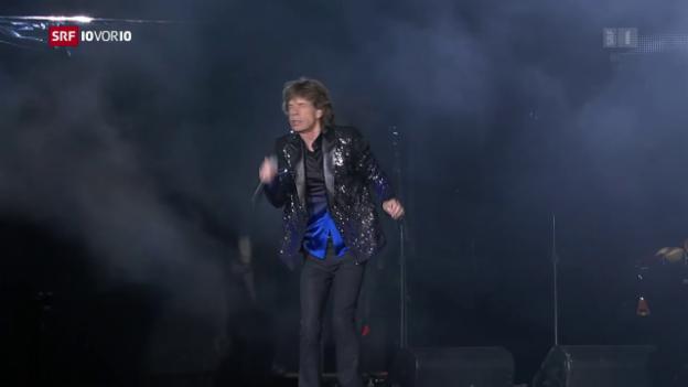 Video «Rolling Stones rocken das Letzigrund» abspielen