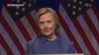 Video «Hillary Clinton meldet sich zurück» abspielen