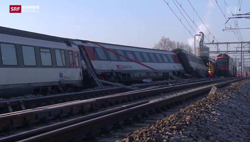 Zugkollision fordert sechs Verletzte