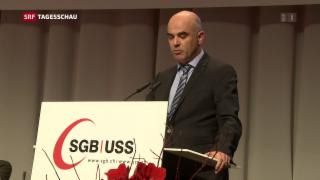 Video «Schwierige Ausganglage für Alain Berset» abspielen