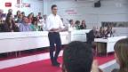 Video «Spaniens Sozialisten suchen Mehrheit» abspielen