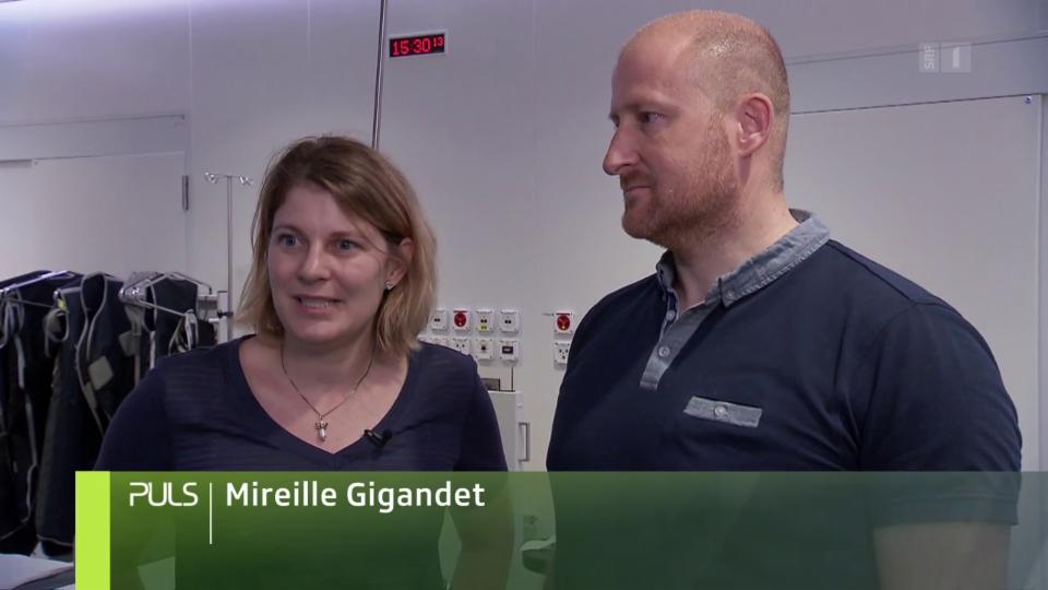 Mireille Gigandets erste Reaktion: «Wegen so was ruft man doch nicht die Ambulanz!»