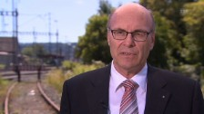 Video «Markus Hutter, Präsident Verkehrskommission Nationalrat» abspielen