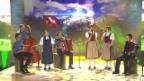 Video «Chantal Häni und Schüpferimeitli mit einem Medley» abspielen
